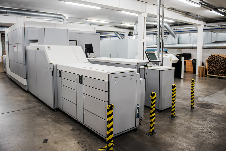 Digital Production — High-quality book production — Livonia Print