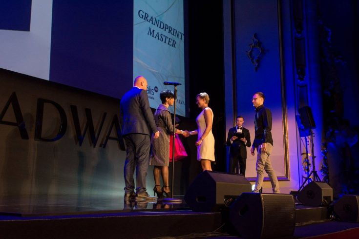 Antalis Grand Print Master Award at the Adwards 2016